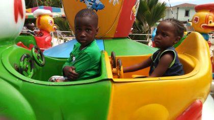 Amusement Park School Trip